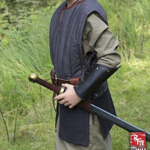 Epic Armoury RFB Przeszywanica bez rękawów dla dzieci, czarna