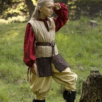 Epic Armoury RFB Sleeveless gambeson for children, beige