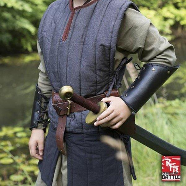 Epic Armoury RFB sleeveless gambeson, black