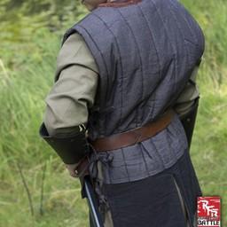 RFB sleeveless gambeson, black