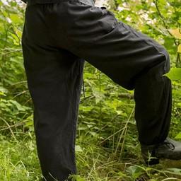 Spodnie Gerald, czarne