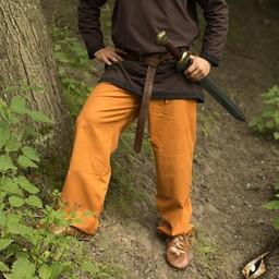 Trousers Gerald, ochre