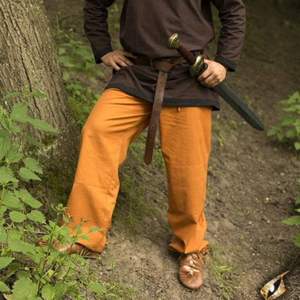 Epic Armoury Pantaloni Gerald, ocra