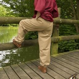 Podstawowe spodnie dziecięce, beżowe