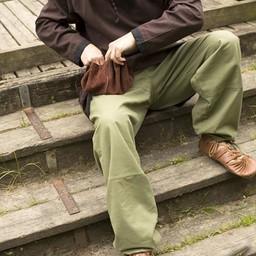 Podstawowe spodnie dziecięce, zielone