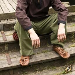 Basic kids trousers, green
