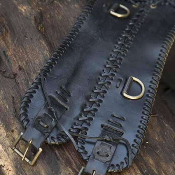 Epic Armoury Bred talje bælte, sort