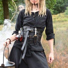 Epic Armoury Large ceinture, noir