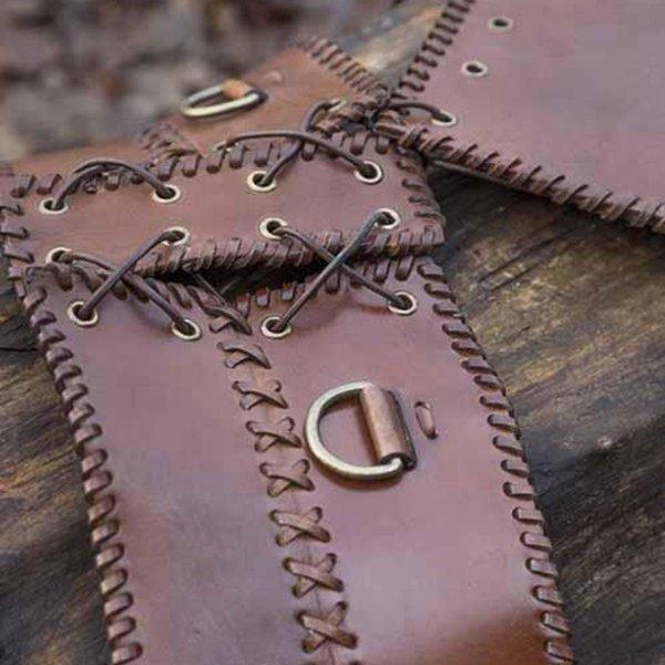 Epic Armoury Ampia cintura in vita, marrone