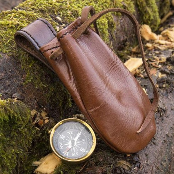 Epic Armoury Compass with leather pouch