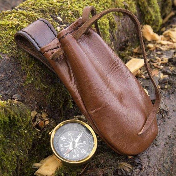 Epic Armoury Kompas med læder taske