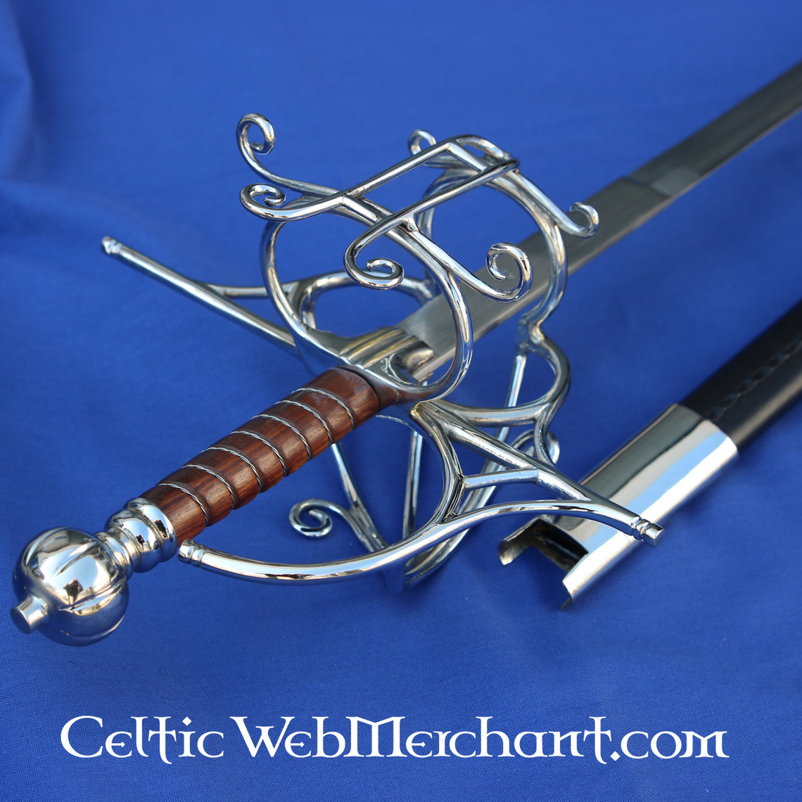 Rapier 16th century with scabbard