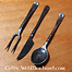 Cutlery set Landsknecht with pouch