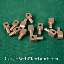 Ulfberth Chain mail chausses, flat rings wedge rivets, 8 mm