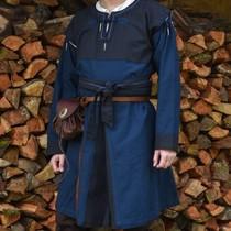 Skjoldehamm tunic, blue-dark blue