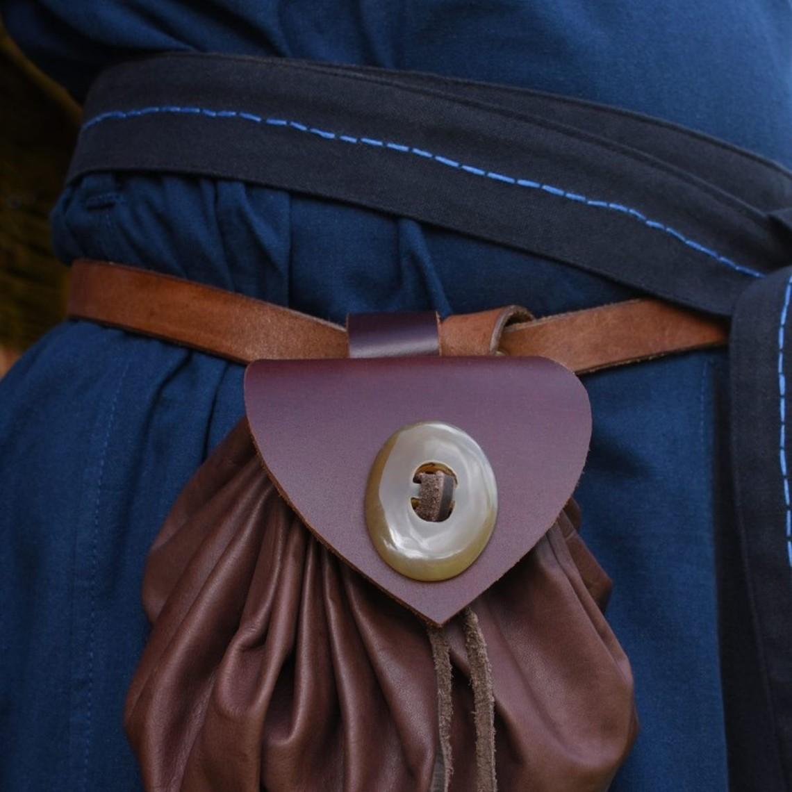 Skjoldehamm tuniek, blauw-donkerblauw