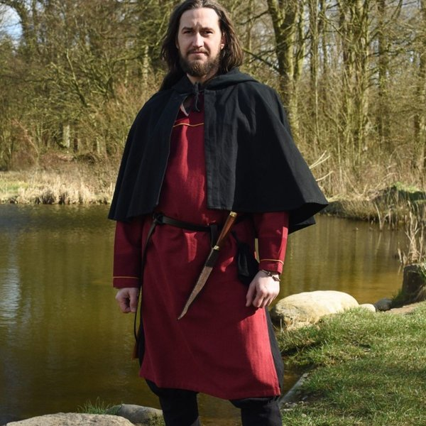 Thorsberg tunika sildeben motiv, rød