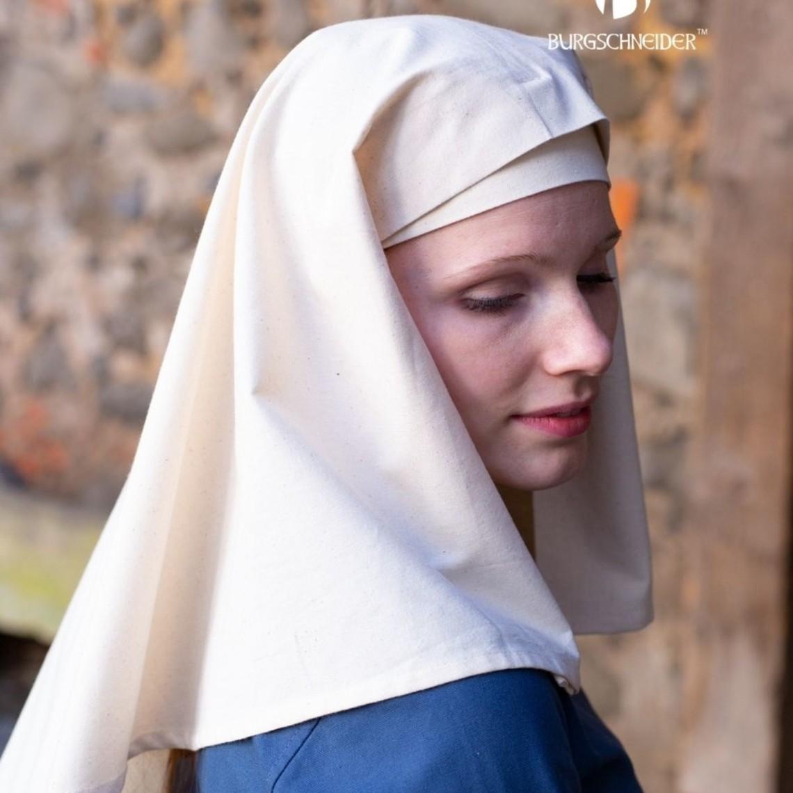 Burgschneider Mittelalterliche Damenhaube Castilla