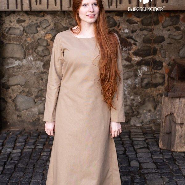 Burgschneider Middelalderlig kjole Freya (ikke farvet)