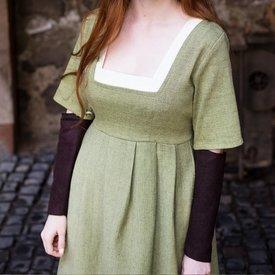 Burgschneider Ärmar Medeltida klänning Frideswinde brun