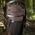 Epic Armoury Cinturón orco marron