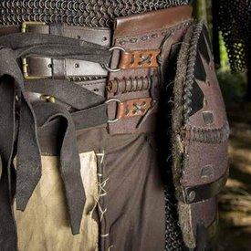 Epic Armoury Cintura Orco marrone