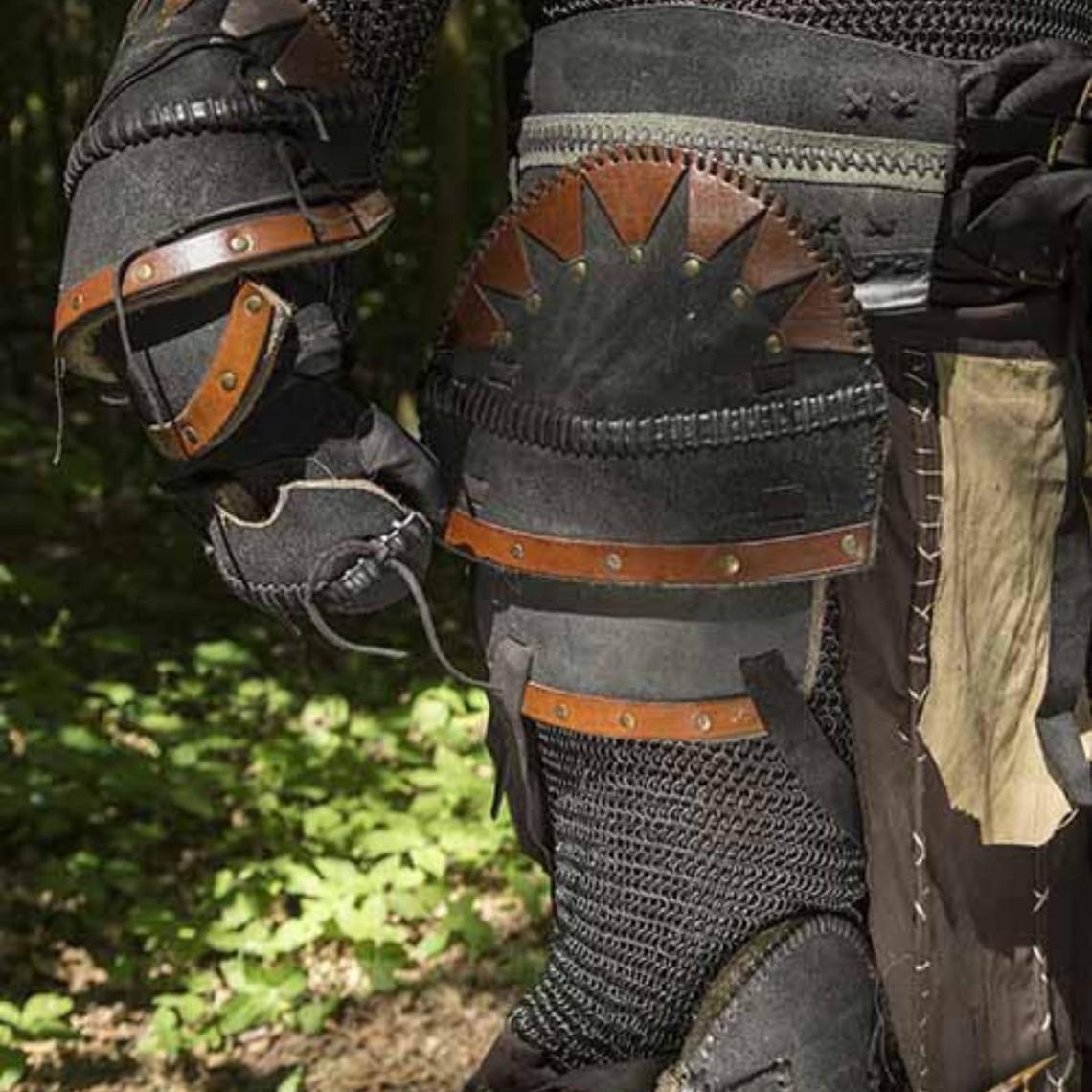 Epic Armoury Orc bälte svart