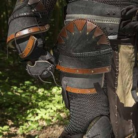 Epic Armoury Pasek orkowy czarny