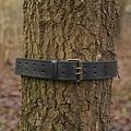 Epic Armoury Cinturon con anillos, negro