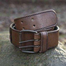Epic Armoury Cintura con anelli, marrone