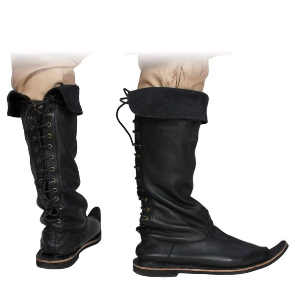 Epic Armoury 15th century boots black