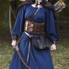 Epic Armoury Pas biodrowy Celtyckie węzły, brązowy