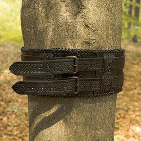 Epic Armoury Tailleriem Keltische knopen, zwart