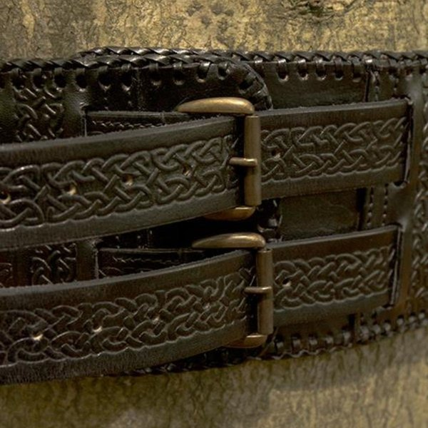 Epic Armoury Taljebælte Keltiske knuder, sort