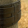 Epic Armoury Taillengürtel keltische Knoten, schwarz
