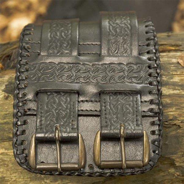 Epic Armoury Ceinture à la taille Noeuds celtiques, noir