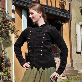 Leonardo Carbone Militær jakke Emily, XL sort, specielle tilbud!