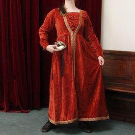 Vestido Borgia rojo