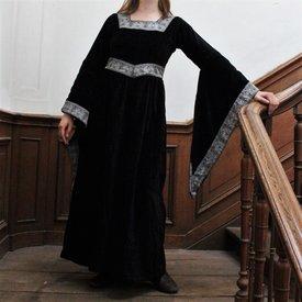Robe Anna Boleyn, noir