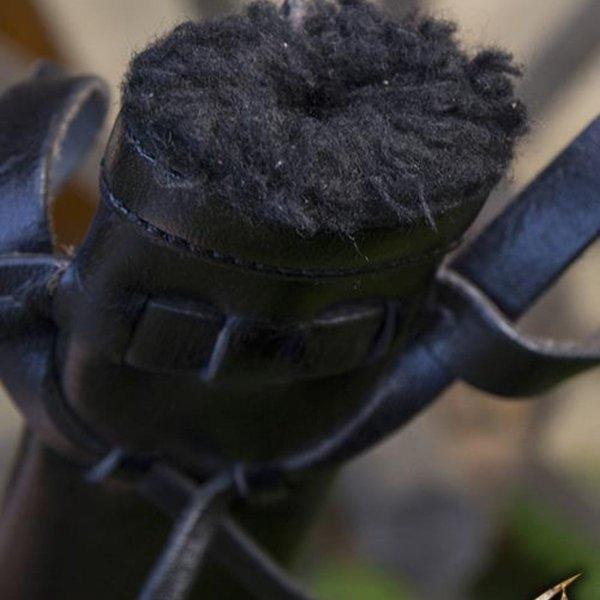 Epic Armoury LARP dolkeskål, lille, højrehåndet, sort