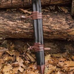Fodero della spada LARP, L, destrimano, nero