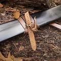 Epic Armoury LARP zwaardschede, L, rechts, zwart