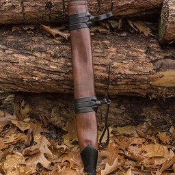 Pochwa na miecz LARP, L, praworęczna, brązowa