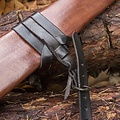 Epic Armoury LARP sword scabbard, L, right-handed, brown
