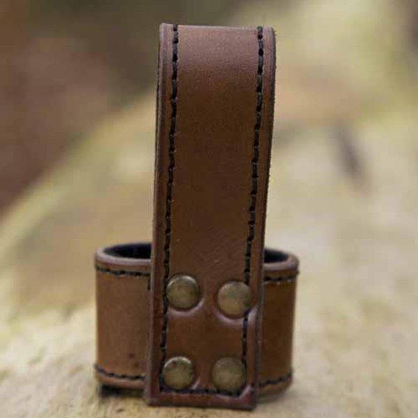 Epic Armoury LARP Basic dolkhållare, brun