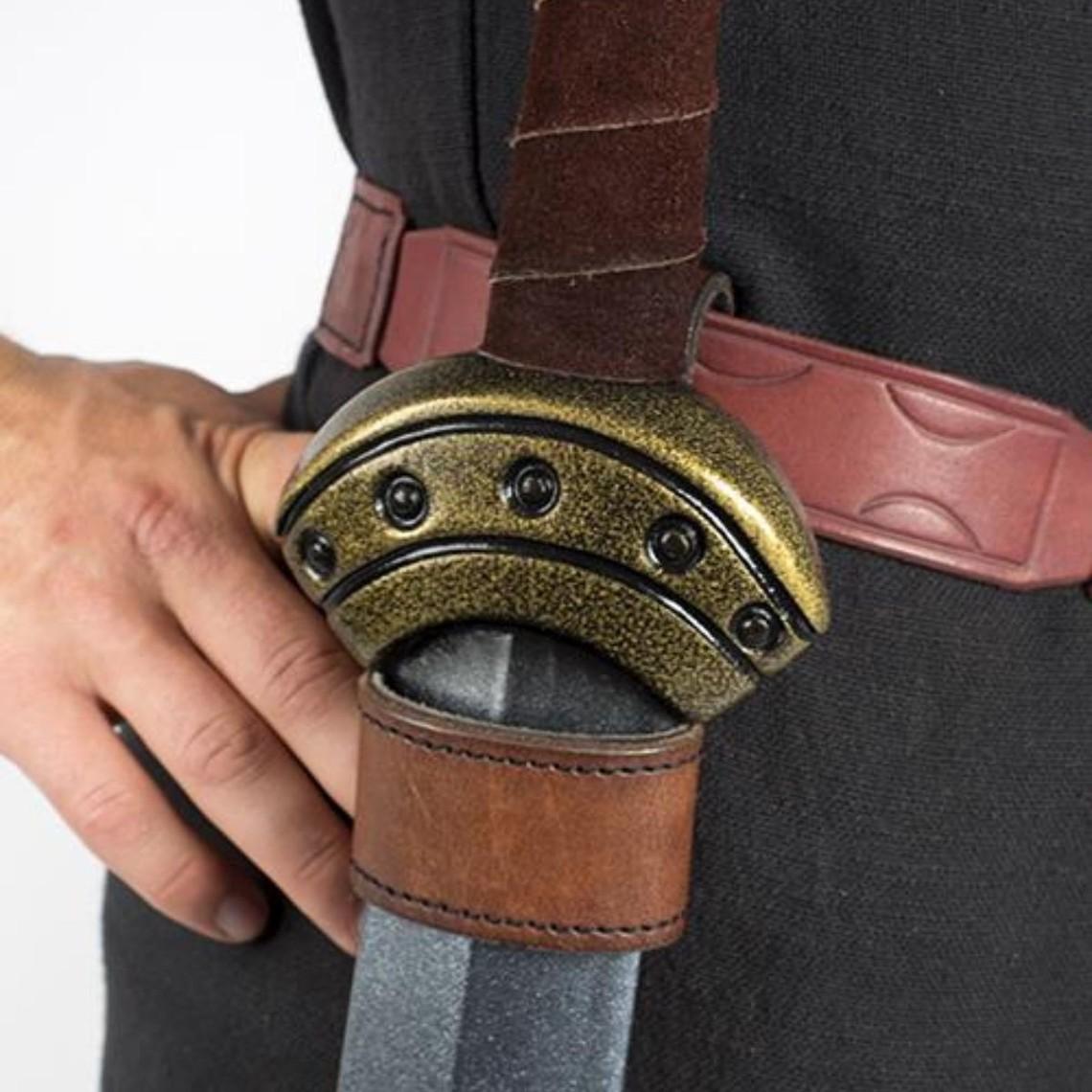 Epic Armoury Soporte de daga LARP Basic, marrón