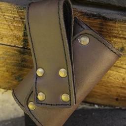 Podstawowy uchwyt na miecz LARP, brązowy
