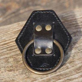 Epic Armoury Porta spada LARP con anello, nero