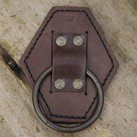 Epic Armoury LARP sværdholder med ring, brun
