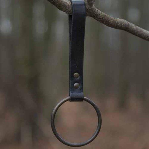 Epic Armoury Supporto per anello LARP per cintura, nero